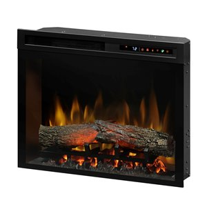 Dimplex  Electric Fireplace Insert - 23-in - Black