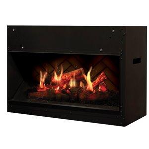 Dimplex Fan-Forced Electric Fireplace - 29-in W - Black