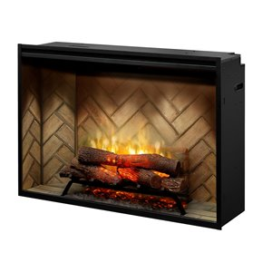 Dimplex Revillusion Electric Fireplace Insert - 42-in - Black