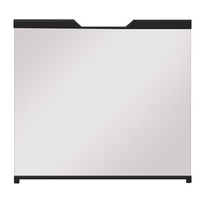 Dimplex Revillusion Cabinet-Style Fireplace Door with Clear Tempered Glass - 29-in to 37-in W x22-1/2-in to 27-1/2-in H - Blac