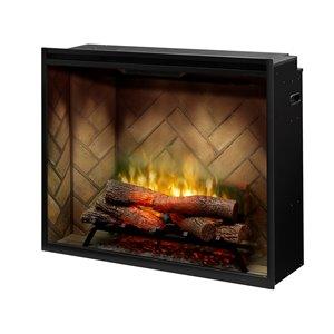 Dimplex Revillusion Portrait Electric Fireplace Insert - 36-in - Black
