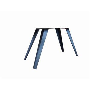 Patte de table contemporaine de Corcoran, 3 po x 30 po, noire