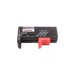 Vérificateur de piles analogiques PureVolt, 1,5 V et 9 V, noir
