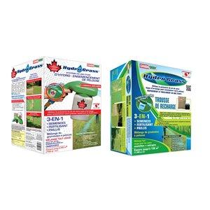 Système d'hydro-ensemencement et trousse de recharge Hydro Grass de Canada Green