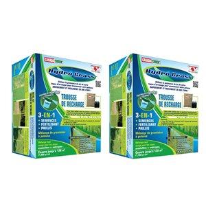 Trousse de recharge Hydro Grass de Canada Green, paquet de 2