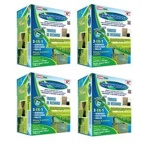 Trousse de  recharge Hydro Grass de Canada Green, paquet de 4