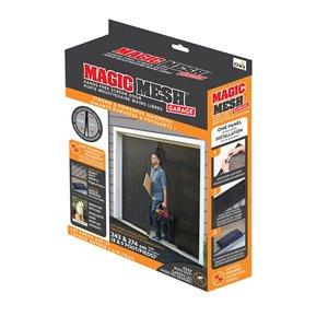 Porte-moustiquaire mains libres de garage Magic Mesh