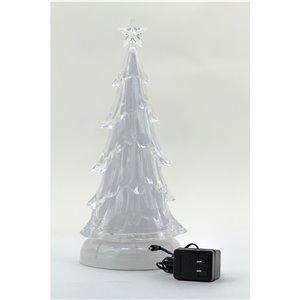 Hi-Line Gift LED Plastic Tabletop Music Tree - 1-pack - RBG