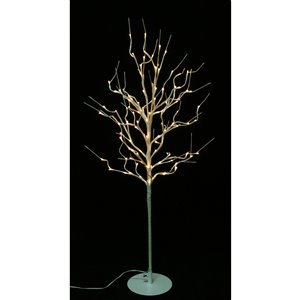 Hi-Line Gift40-in Artificial Fruit Tree - Brown