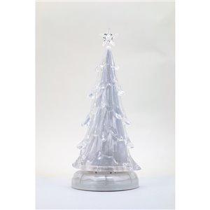 Hi-Line Gift LED Plastic Tabletop Music Tree - 1-pack - White