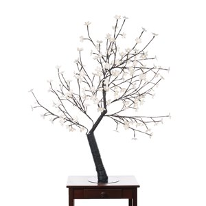 Hi-Line Gift47.25-in Artificial Plum Blossom Tree - White