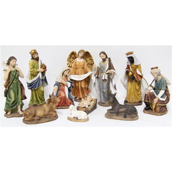 Hi-Line Gift Resin Nativity Figurines - 11-pack