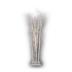 Hi-Line Gift71-in Artificial Eucalyptus Tree - White