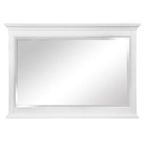 Miroir de salle de bain Brantley de Foremost, blanc, 46 po