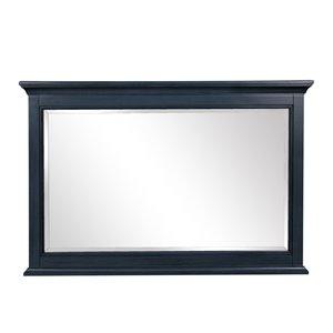 Miroir de salle de bain Brantley de Foremost, bleu poli, 46 po