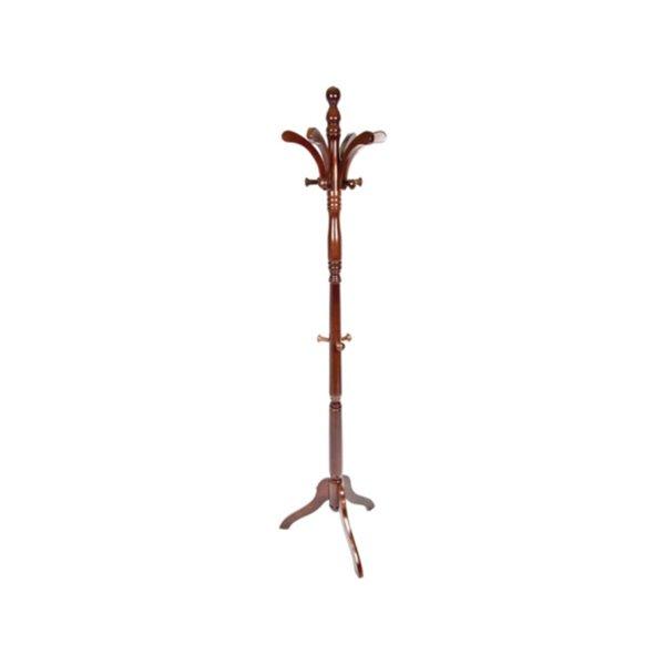 Portemanteau traditionnel marron avec 5 crochets de IH Casa Decor