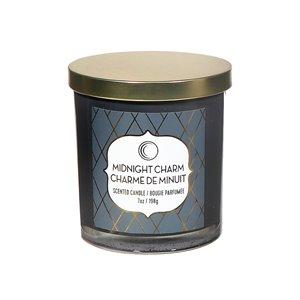 Chandelle en pot Charme de minuit de 7 oz et 2 mèches par IH Casa Decor, lot de 2