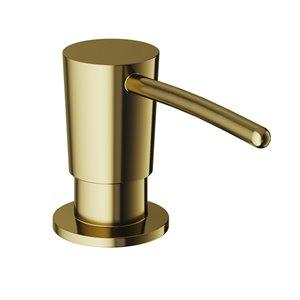 Vigo Kitchen Soap Dispenser, Matte Gold