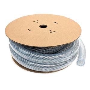 Tuyau de vinyle tressé renforcé de Canada Tubing, 1 1/2 po DI x 25 pi