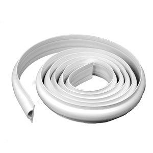 Bordure de quai en D EasyFlex, 25 pi, blanc