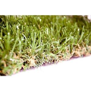 Échantillon de gazon synthétique Fescue Premium de Green as Grass, 1 pi x 1 pi