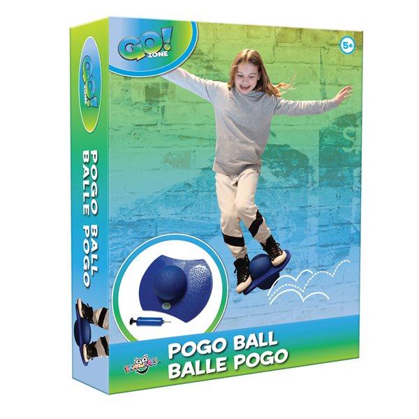 Balle Pogo de Go! Zone avec pompe à l'air