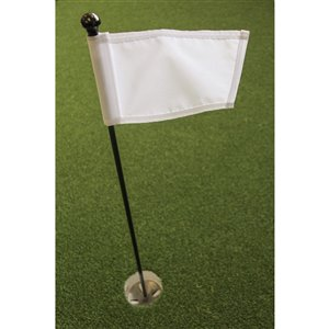 Par Aide Putting Green Kit, White Flag