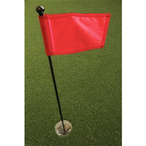 Par Aide Putting Green Kit, Red Flag