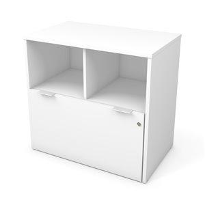 Classeur i3 Plus à un tiroir de Bestar, blanc