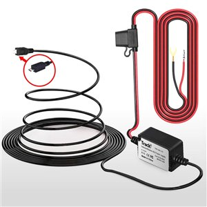 Ensemble de stabilisateur d'énergie 12-24 V vers micro USB et cablâge pour tracker GPS Tracki 3G