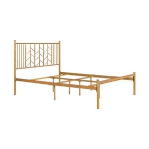 Encadrement pour lit à deux places Miye de FurnitureR, or