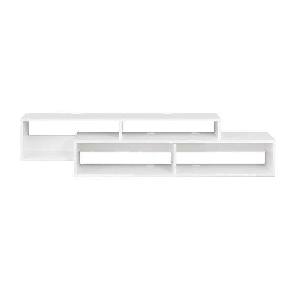 Prepac White Wall-Mounted Console