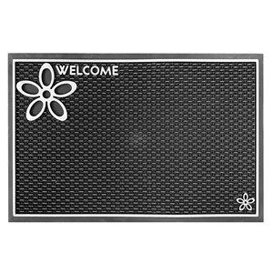 Floor Choice Silver Dassi Welcome Mat - 39-in x 18-in