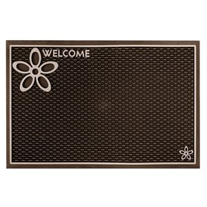 Floor Choice Brown Dassi Welcome Mat - 39-in x 18-in