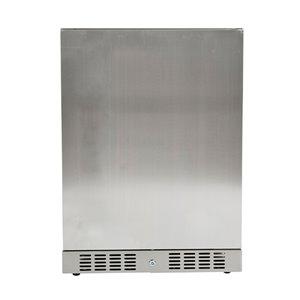 Réfrigérateur compact intérieur/extérieur encastrable ou autoportant Elegant Stainless, 4,1pi³, acier inoxydable