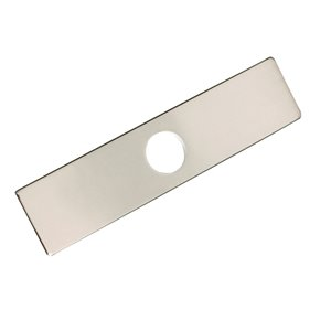 Stylish Kitchen Faucet Hole Cover/Plate - Brushed Nickel