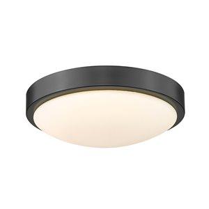 Golden Lighting Gabi 10-in Opal Glass Modern/Contemporary LED Flush Mount Light – 1-Pack