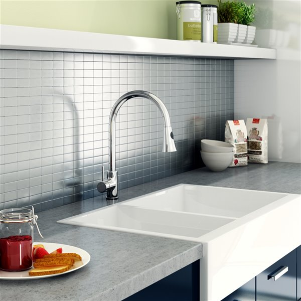 SpeedTiles 3X Faster Stainless Steel 4-in x 4-in Aluminum Brick Wall Tile Tile Sample