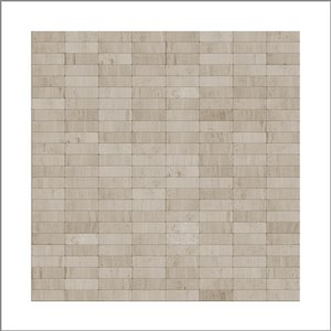 SpeedTiles 3X Faster Grey 4-in x 4-in Natural stone Linear Wall Tile Tile – Sample