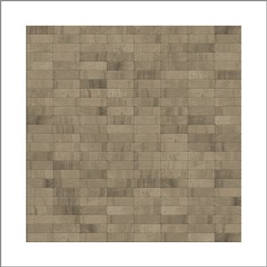 SpeedTiles 3X Faster Grey 4-in x 4-in Natural stone Linear Wall Tile Tile Sample