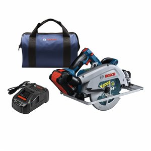 Bosch ProFactor 7 1/4-in Brushless 18-Volt Cordless Circular Saw with Brake and Aluminum Shoe (1-Battery Included)