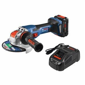 Meuleuse angulaire sans fil 18 V de 6 po par Bosch Profactor (1 batterie incluse)