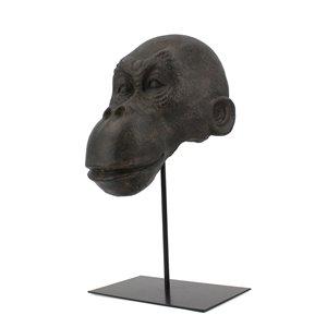 Sculpture Ohini de 16 po en résine par Gild Design House