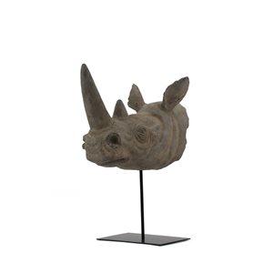 Sculpture Roho de 17 po en résine par Gild Design House