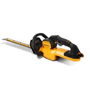Taille-haie électrique HT24E de 24 po sans fil 60 volts max par Cub Cadet (outil seulement)