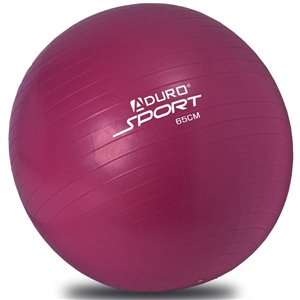 Aduro Sports Exercise Ball with Pump - Purple