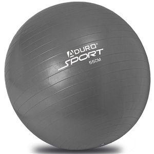 Aduro Sports Exercise Ball with Pump - Silver