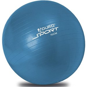 Aduro Sports Exercise Ball with Pump - Blue