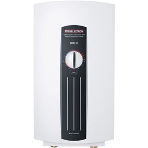 Chauffe-eau électrique DHC-E sans réservoir 240-Volt 12 kW 3 gpm de Stiebel Eltron