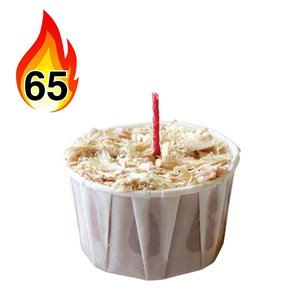 Allume-feu naturel de par Qwick Wick, paquet de 65